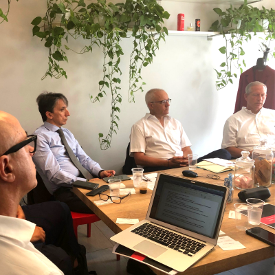 2019-06-25 Breakfast at SonicWall Press Meeting