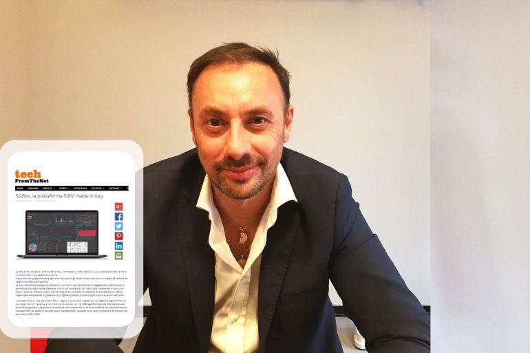Massimo Turchetto, CEO of SGBox