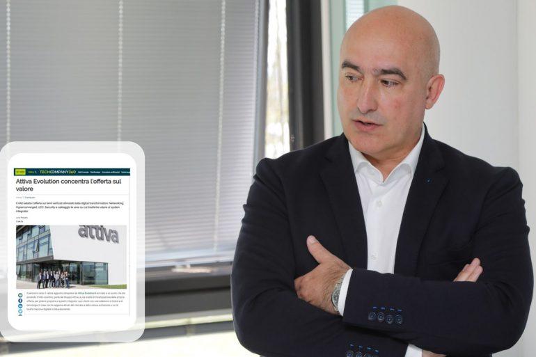 Lorenzo Zanotto, Business Sales Unit Manager Attiva Evolution