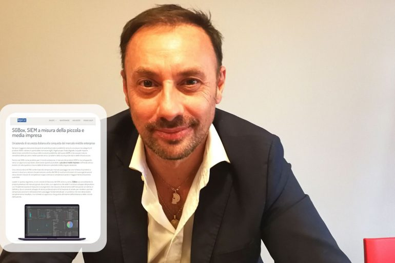 Massimo Turchetto, CEO and founder of SGBox