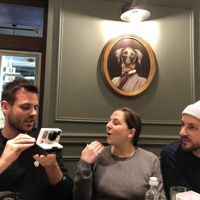 2017 11 29 - Breakfast at Nital's - Digital PR