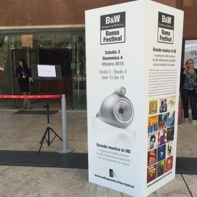 2015 10 03 - Audiogamma - Bowers&Wilkins - Parco della Musica - Roma