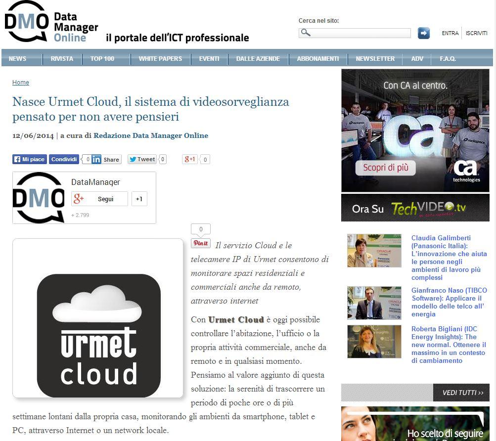 Urmet naper multimedia agenzia di comunicazione milano for Urmet cloud