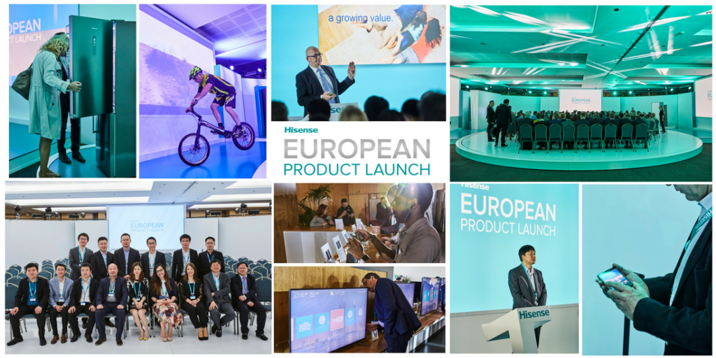 European Product Launch