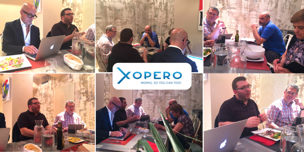 Xopero - Press Lunch