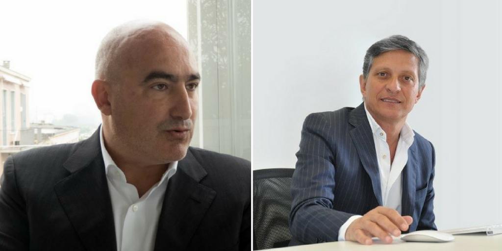 Da sinistra: Lorenzo Zanotto, Bu Sales Manager di Attiva Evolution e da Davide Simonato, Sales & Marketing Director di Attiva.