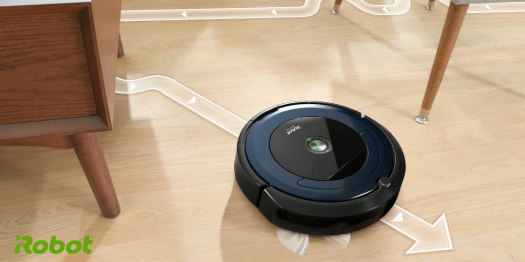 La connettività sbarca anche sulle serie iRobot Roomba serie 600 e 800