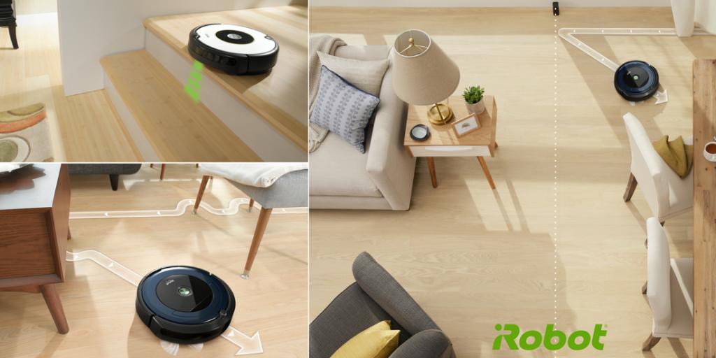 iRobot presenta le serie Roomba 800 e 600 connesse