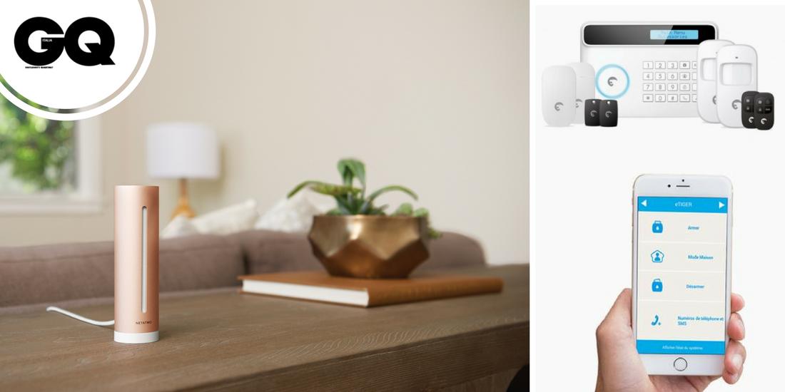 Gq italia etiger e netatmo per una smart home perfetta for Faccende domestiche in inglese