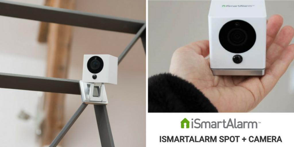 Nuova iSmartAlarm Spot+ Camera - un occhio vigile in casa H24