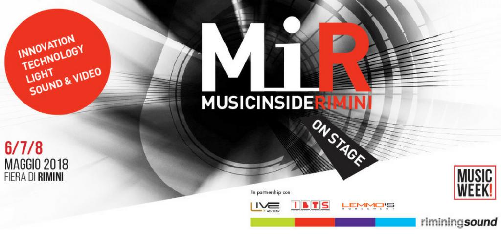 MIR 2018 - Music Week novità assoluta