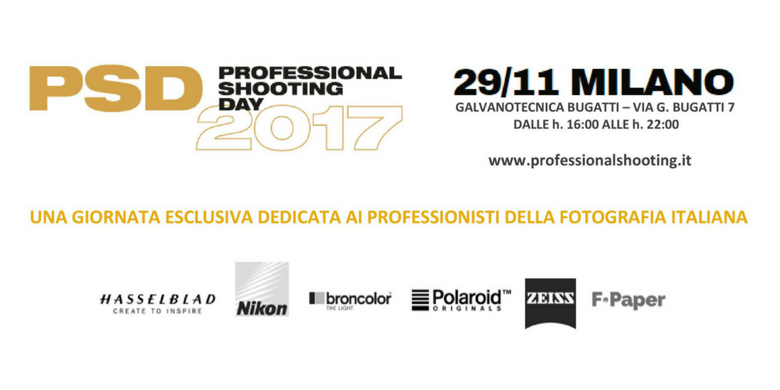PSD: Professional Shooting Day
