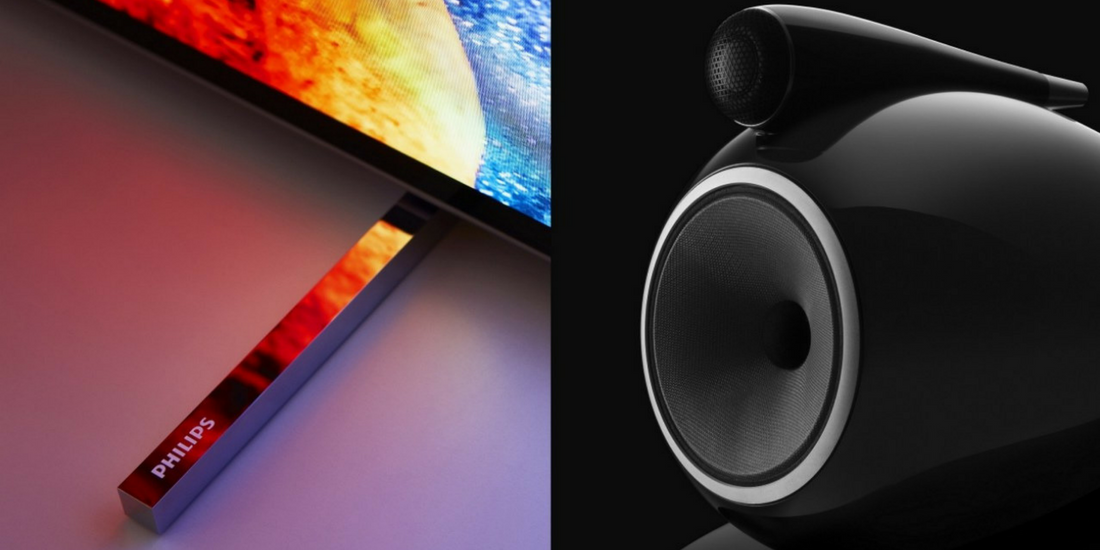 Bowers & Wilkins e Philips TV - insieme per una user-experience unica