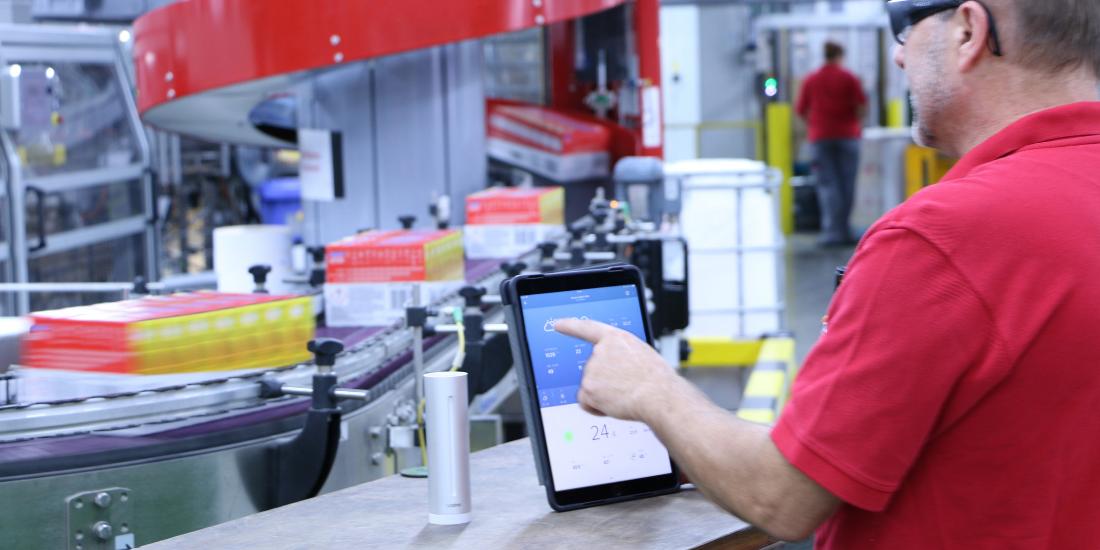 Henkel e Netatmo portano nei siti produttivi la sostenibilità basata sui dati
