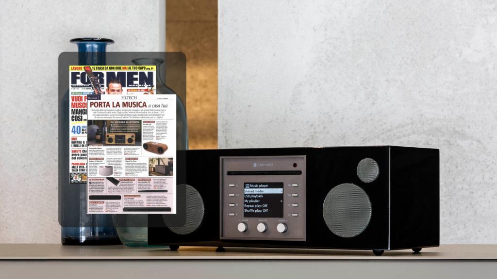 como audio for men magazine