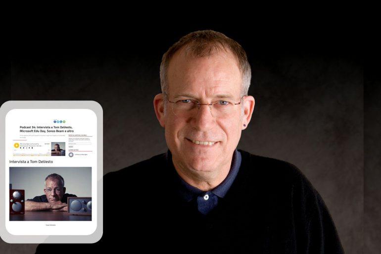 Tom Devesto, CEO and founder of Como Audio