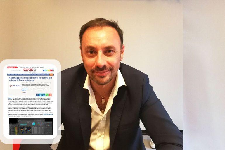 Massimo Turchetto, CEO SGBox