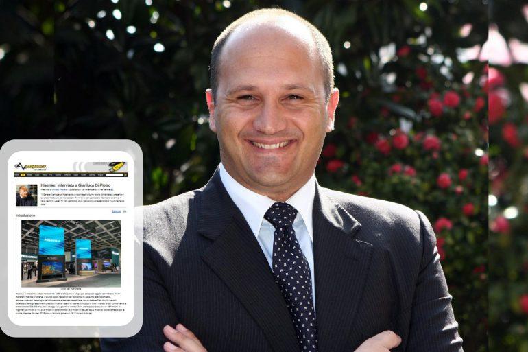 Gianluca Di Pietro, General Manager di Hisense Italia