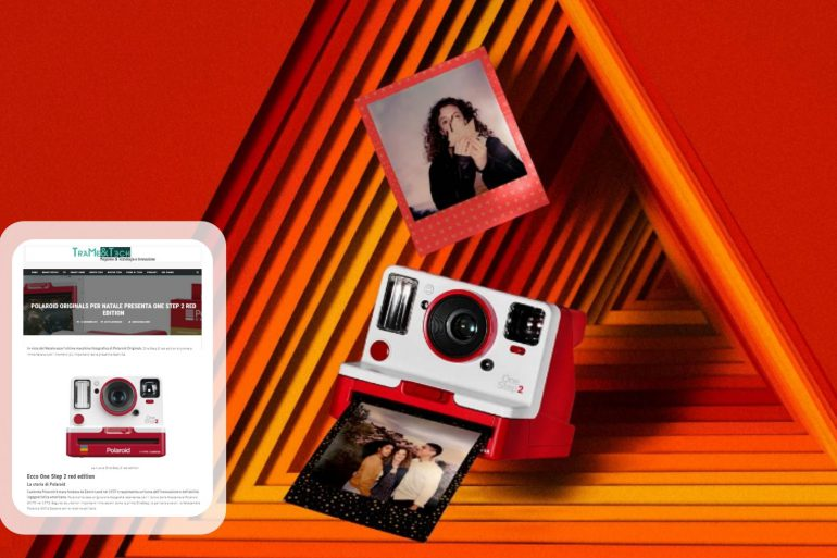 polaroid originals one step 2 red edition