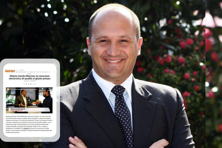 Gianluca Di Pietro, General Manager di Hisense