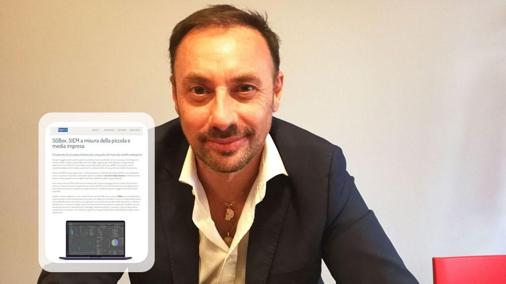 Massimo Turchetto, CEO e founder di SGBox