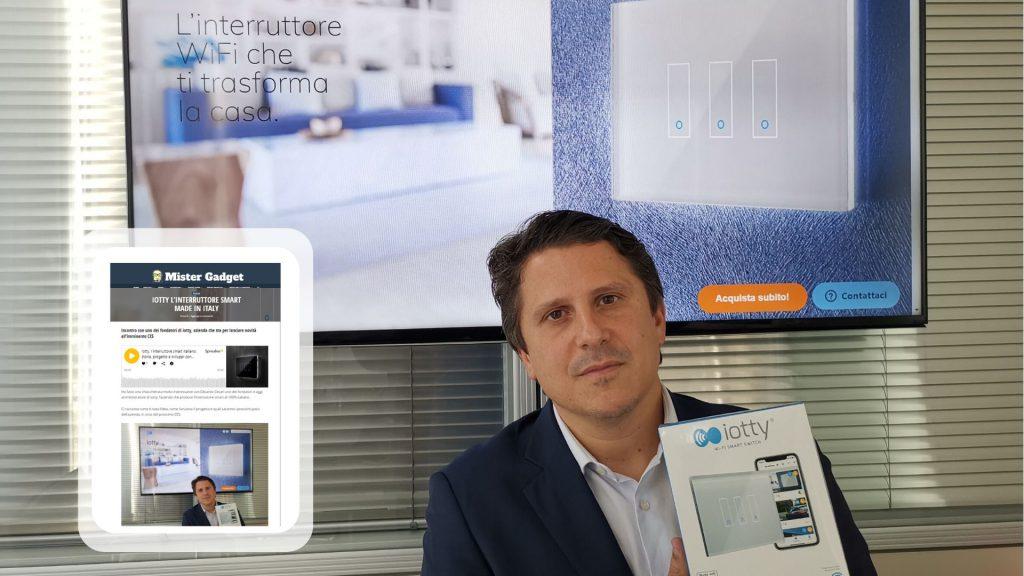 Edoardo Cesari, Co-Founder iotty