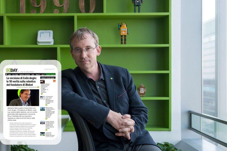 Colin Angle, CEO e fondatore iRobot